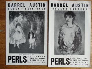 Darrel Austin: Recent Paintings and Recent Pastels (2 Catalogues