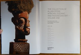 The Collection of Allan Stone: African , Oceanic, and Indonesian Art - Volume One