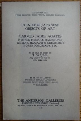 Chinese & Japanese Works of Art: Carved Jades, Agates & Other Precious Hardstones, Jewelry,...