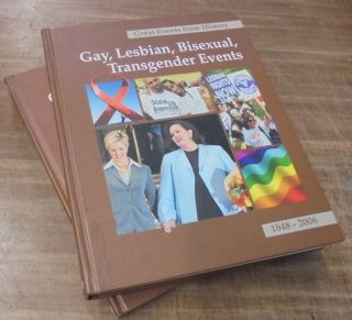 Gay, Lesbian, Bisexual, Transgender Events, 1848-2006 (2 volumes) (Great Events from History)....