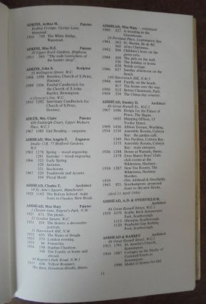 Royal Academy Exhibitors, 1905-1970. A dictionary of artists and their work in the summer exhibitions of the Royal Academy of Arts, (Complete Set, 6 Volumes)