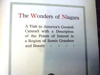 The Wonders of Niagara, Scenic and Industrial