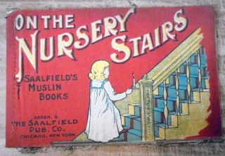 On the Nursery Stairs (Saalfield's Muslin Books