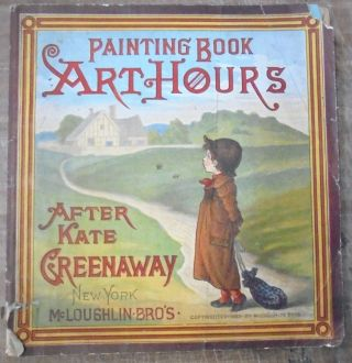 Painting Book Art Hours After Kate Greenaway