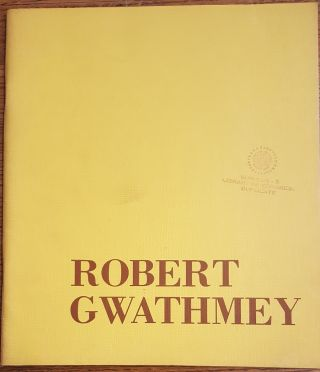 ROBERT GWATHMEY. John Canaday, Jonathan Ingersoll, Introduction