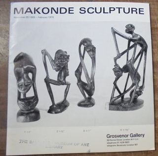 Makonde Sculpture. Walter Battiss