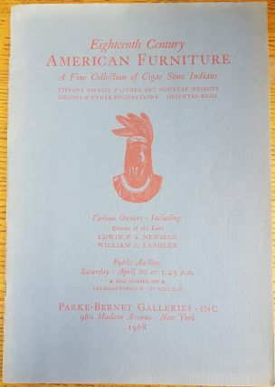 American furniture by New England, New York & other cabinetmakers. Sale No. 2689; A fine...