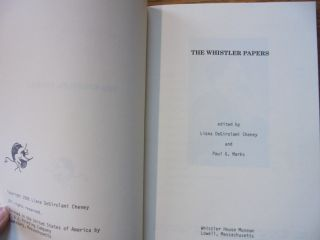 The Whistler Papers
