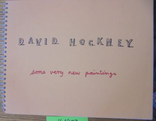 David Hockney: Some Very New Paintings. Andre Emmerich
