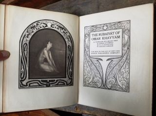 The Rubaiyat of Amar Khayyam (translated into English verse by Edward FitzGerald ; with illustrations by Adelaide Hanscom)