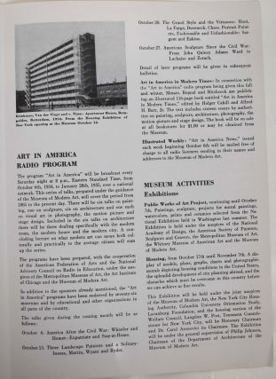 The Bulletin of the Museum of Modern Art : Vol. 2, No. 1, Oct., 1934