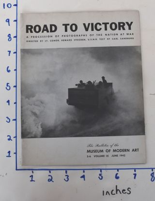 Road to Victory, The Bulletin of the Museum of Modern Art, Volume 9, Nos. 5 – 6, June 1942....