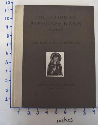 The Alphonse Kann Collection, Sold by his order: Part II: Paintings & Drawings, Examples by...
