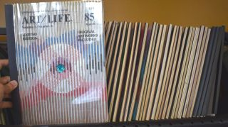Art/Life : communication for the creative mind ; the original limited edition monthly [Lot of 31 Issues]