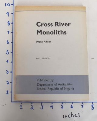 Cross River monoliths. Philip Allison