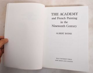 The Academy and French Painting in The Nineteenth Century