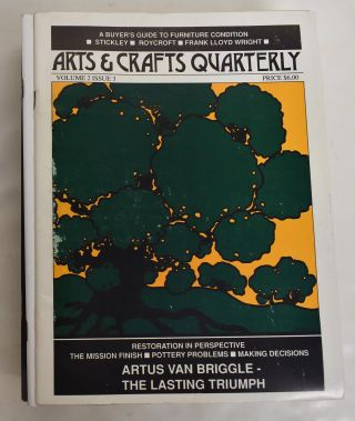 Arts and Crafts Quarterly (16 issues, 1986-1994, incompl.)