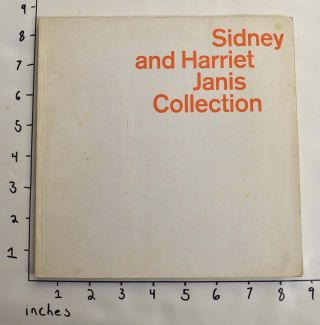 Sidney and Harriet Janis Collection. Alfred Hamilton Barr