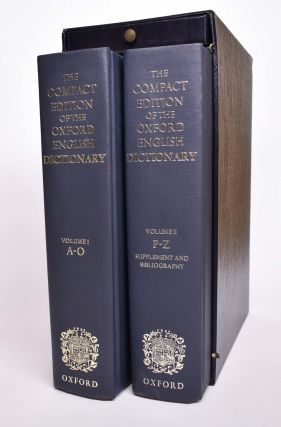 Oxford English Dictionary, Compact Edition, 27th Edition