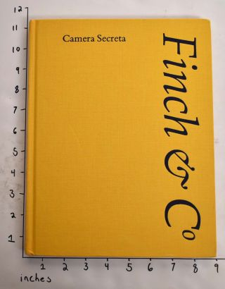 Camera Secreta, Catalogue No. 23 [Winter 2014]. Finch, Co