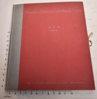 AMERICAN ARTISTS IN COLOR REPRODUCTION. A.F.A Portfolio No. 1