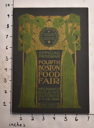 Fourth Boston food fair (Official Proggram