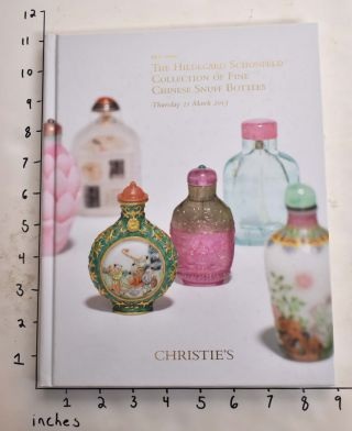 The Hildegard Schonfeld Collection of Fine Chinese Snuff Bottles. Christie's.