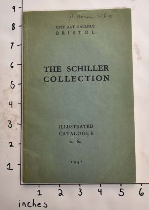 The Schiller collection of Chinese ceramics, jades and bronzes. Illustrated catalogue. A. L....