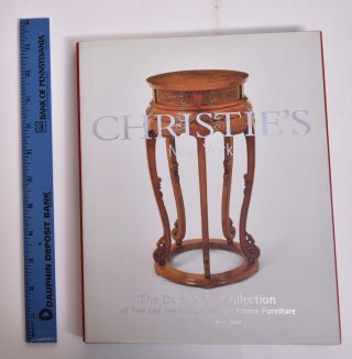 The Dr. S.Y. Yip Collection of Fine and Important Classical Chinese Furniture (Christie's Sale...