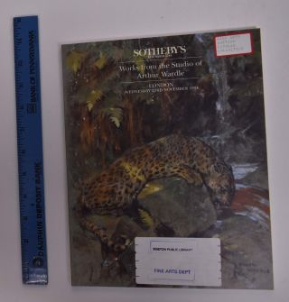 Works from the Studio of Arthur Wardle. Sotheby's
