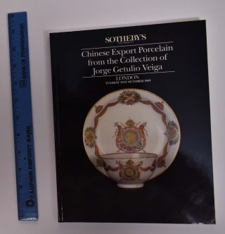 Chinese Export Porcelain from the Collection of Jorge Getulio Veiga. Sotheby's.