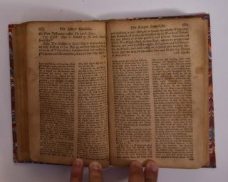 "The Larger Catechism, Agreed Upon by The Assembly of of Divines at Westminster... ( individual section of ""Confession of Faith, the Larger and Shorter Catechisms, with the Scripture Proofs at Large Together with the Sum of Saving Knowledge (Contained in the Holy Scriptures, and held forth in the said Confession and Catechisms) and Practical Use thereof; Covenants National and Solemn League, Acknowledgment of Sins and Engagements to Duties, Directories, Form of Church Government, &c. of Public-Authority in the Church of Scotland. With Acts of Assembly and Parliament, relative to, and approbative of the same."")"