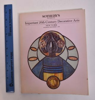 Important 20th Century Decorative Arts. Sotheby's