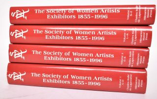 The Society of Women Artists Exhibitors, 1855-1996: A Dictionary of Artists and Their Works in the Annual Exhibition of the Society of Women Artists (4-volume set COMPLETE). Charles Baile de Laperriere, Joanna Soden.