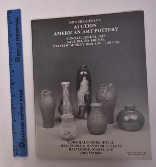 Don Treadway's Auction American Art Pottery. Don Treadway's