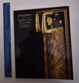 Applied Arts from 1880 Including Arts and Crafts, Art Nouveau and Art Deco. Sotheby's