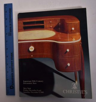 Important 20th Century Decorative Arts. Christie's
