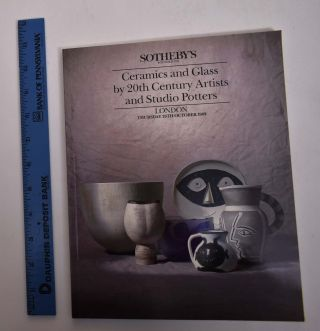 Ceramics and Glass by 20th Century Artists and Studio Potters. Sotheby's