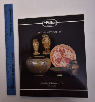 British Art Pottery and Tiles. Son Phillips, Neale