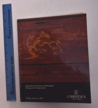 Important American Architectural Designs & Commissions Including American Arts & Crafts. Christie's