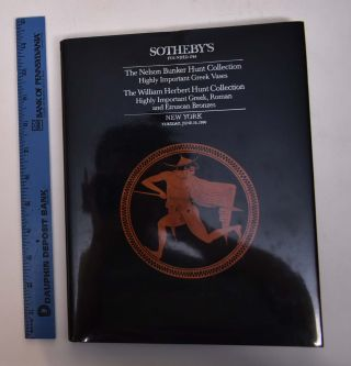 The Nelson Bunker Hunt Collection of Highly Important Greek Vases; The William Herbert Hunt...
