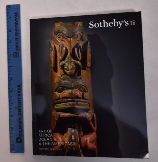 Art of Africa, Oceania, & The Americas. Sotheby's