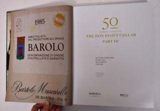50 Years of Collecting: The Don Stott Cellar, Part III