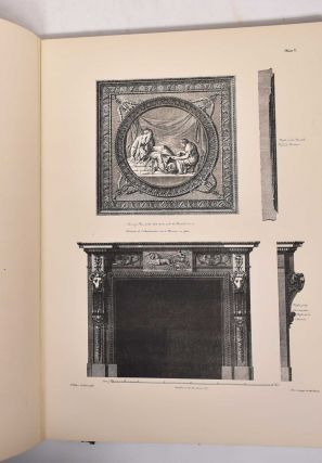 The Decorative Work of Robert & James Adam: Being a Reproduction of the Plates Illustrating Decoration & Furniture From their Works in Architecture Published 1778-1812
