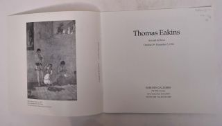 Thomas Eakins: Art and Archive
