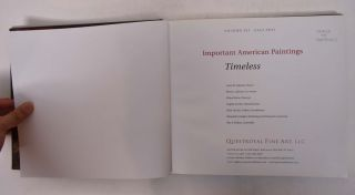 Important American Paintings: Timeless (Volume XII Fall 2011)