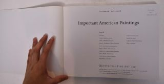 Important American Paintings [Volume IX, Fall 2008]