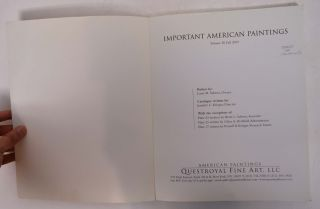 Important American Paintings [Volume IV, Fall 2003]