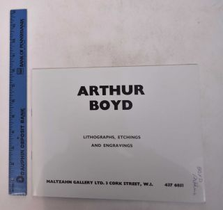 Arthur Boyd: Lithographs, Etchings and Engravings. Arthur Boyd