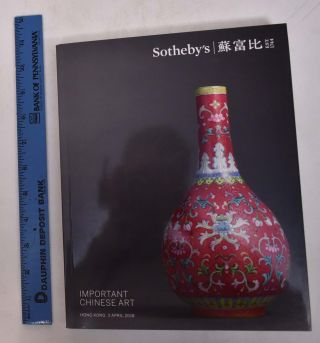 Important Chinese Art. Sotheby's